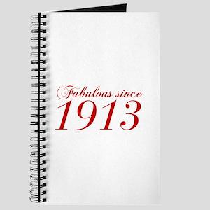 Fabulous since 1913-Cho Bod red2 300 Journal