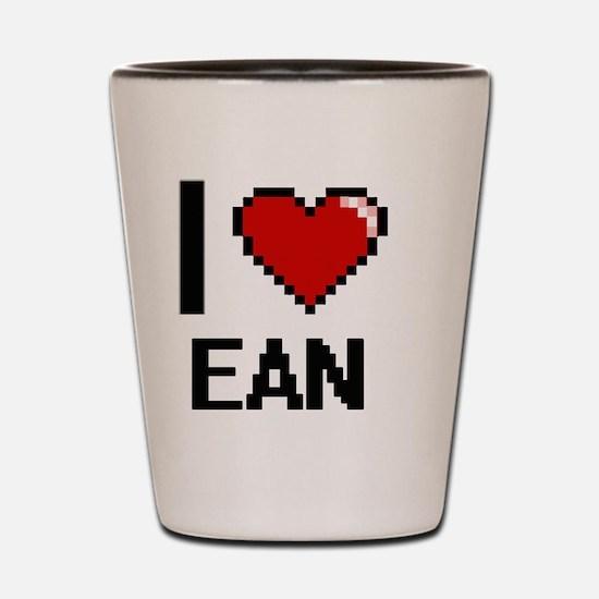 Funny Ean Shot Glass