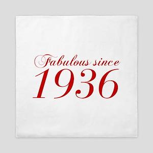 Fabulous since 1936-Cho Bod red2 300 Queen Duvet