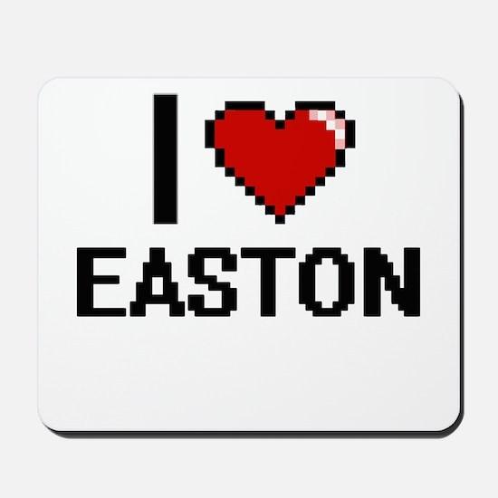 I Love Easton Mousepad