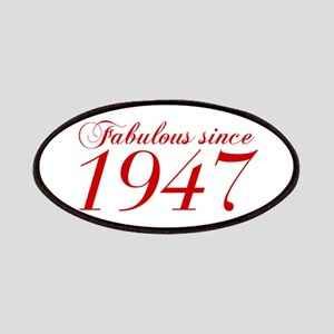 Fabulous since 1947-Cho Bod red2 300 Patch