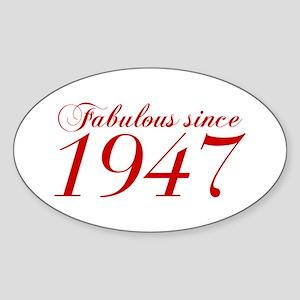 Fabulous since 1947-Cho Bod red2 300 Sticker