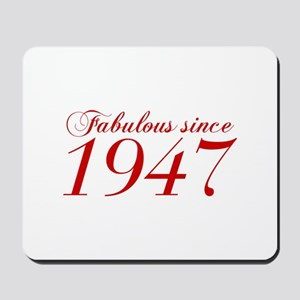 Fabulous since 1947-Cho Bod red2 300 Mousepad