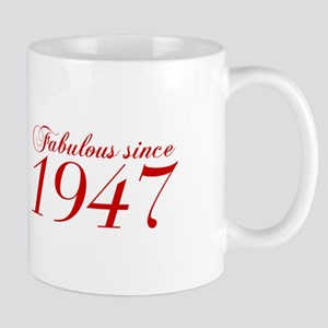 Fabulous since 1947-Cho Bod red2 300 Mugs