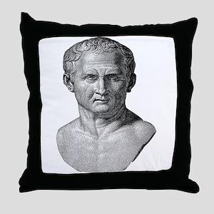 """""""Marcus Tullius Cicero"""" Throw Pillow"""