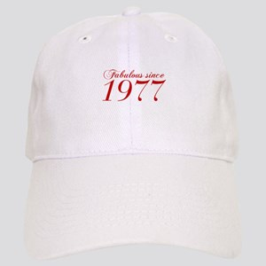 Fabulous since 1977-Cho Bod red2 300 Baseball Cap