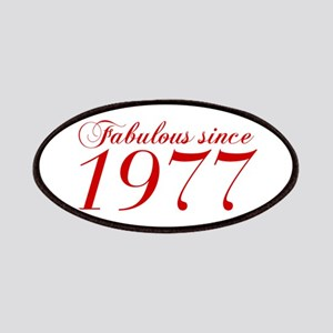 Fabulous since 1977-Cho Bod red2 300 Patch