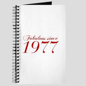 Fabulous since 1977-Cho Bod red2 300 Journal