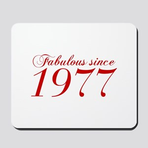 Fabulous since 1977-Cho Bod red2 300 Mousepad