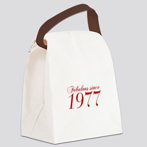 Fabulous since 1977-Cho Bod red2 300 Canvas Lunch