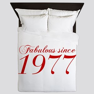 Fabulous since 1977-Cho Bod red2 300 Queen Duvet