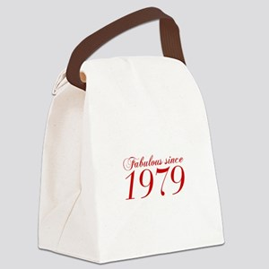 Fabulous since 1979-Cho Bod red2 300 Canvas Lunch