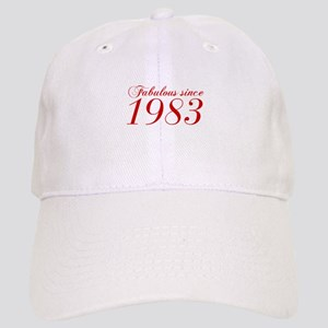 Fabulous since 1983-Cho Bod red2 300 Baseball Cap