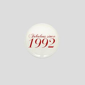 Fabulous since 1992-Cho Bod red2 300 Mini Button