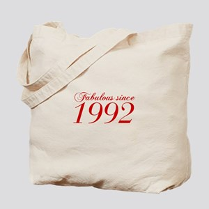 Fabulous since 1992-Cho Bod red2 300 Tote Bag