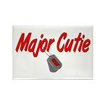 Navy Major Cutie Rectangle Magnet (100 pack)