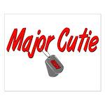 Navy Major Cutie Small Poster