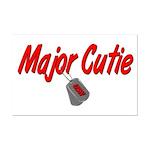 Navy Major Cutie  Mini Poster Print