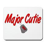 Navy Major Cutie Mousepad