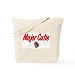 Navy Major Cutie  Tote Bag