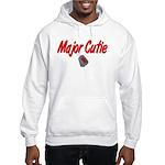 Navy Major Cutie Hooded Sweatshirt