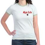 Navy Major Cutie Jr. Ringer T-Shirt