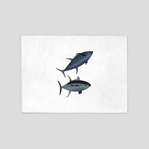 TUNA FISH 5'x7'Area Rug