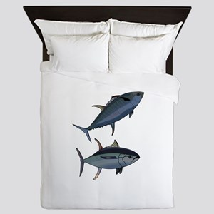 TUNA FISH Queen Duvet