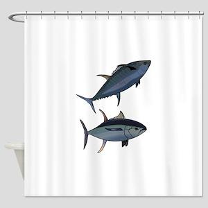 TUNA FISH Shower Curtain