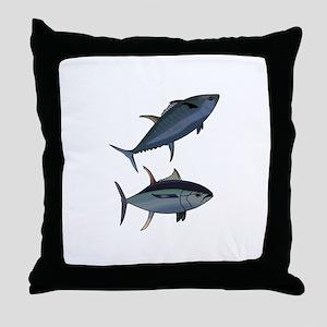 TUNA FISH Throw Pillow