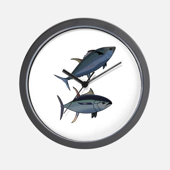 TUNA FISH Wall Clock