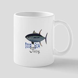 DEEP SEA FISHING Mugs