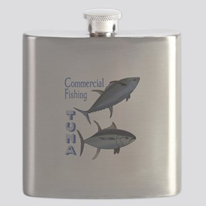 TUNA COMMERCIAL FISHING Flask