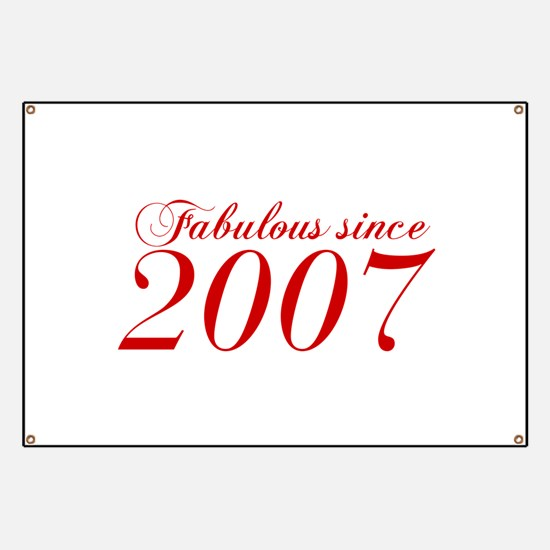 Fabulous since 2007-Cho Bod red2 300 Banner