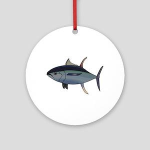 Tuna Fish Ornament (Round)
