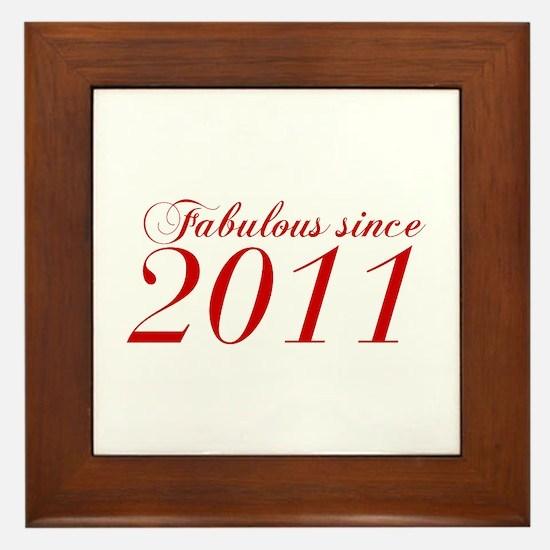 Fabulous since 2011-Cho Bod red2 300 Framed Tile