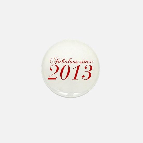Fabulous since 2013-Cho Bod red2 300 Mini Button