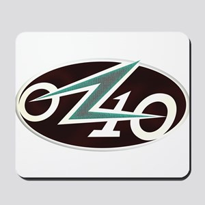 OZ10 Tur-Q Logo Mousepad