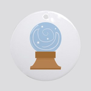 Crystal Ball Ornament (Round)