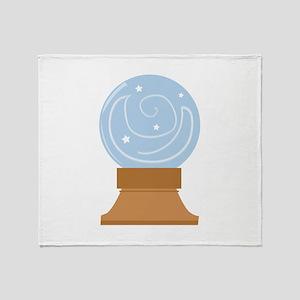 Crystal Ball Throw Blanket