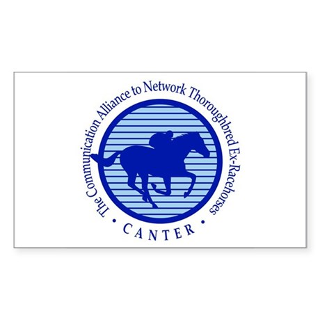 CANTER Rectangular Sticker