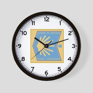 Camino de Santiago Spanish-Basque, Spai Wall Clock