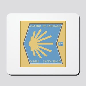 Camino de Santiago Spanish-Basque, Spain Mousepad