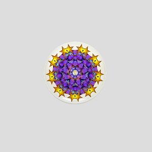 Dharma Wheel Mini Button