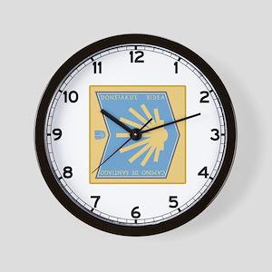 Camino de Santiago Basque-Spanish, Spai Wall Clock