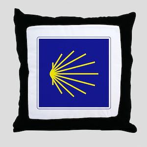 Camino de Santiago, Spain Throw Pillow