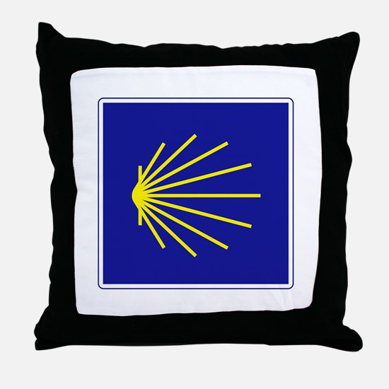 Camino de Santiago, Spain Throw Pillow