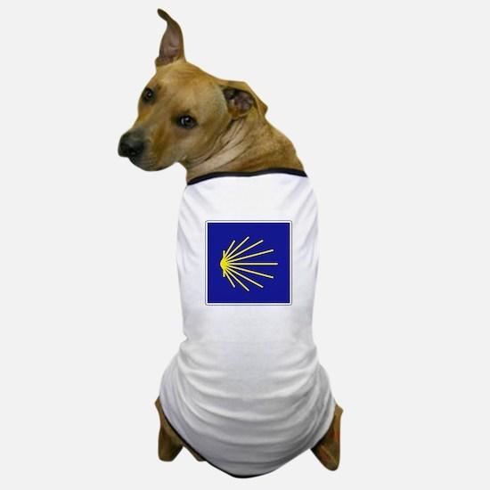 Camino de Santiago, Spain Dog T-Shirt