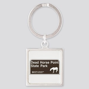 Dead Horse Point State Park, Utah Square Keychain