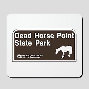 Dead Horse Point State Park, Utah Mousepad